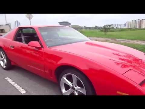 Muscle Car Pontiac in Malaysia