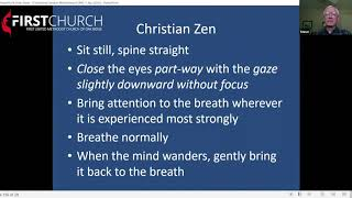 Week 4- Christian Mindfulness