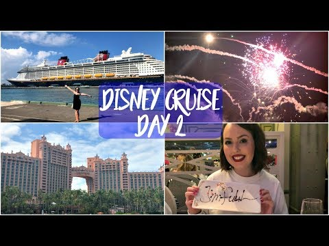 Disney Dream Cruise Bahamas February 2018 | Day Two - Nassau and Pirate Night