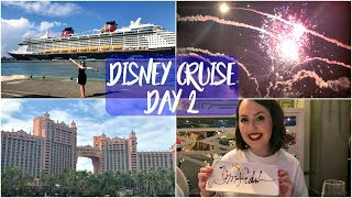 Disney Dream Cruise Bahamas February 2018 | Day Two - Nassau and Pirate Night