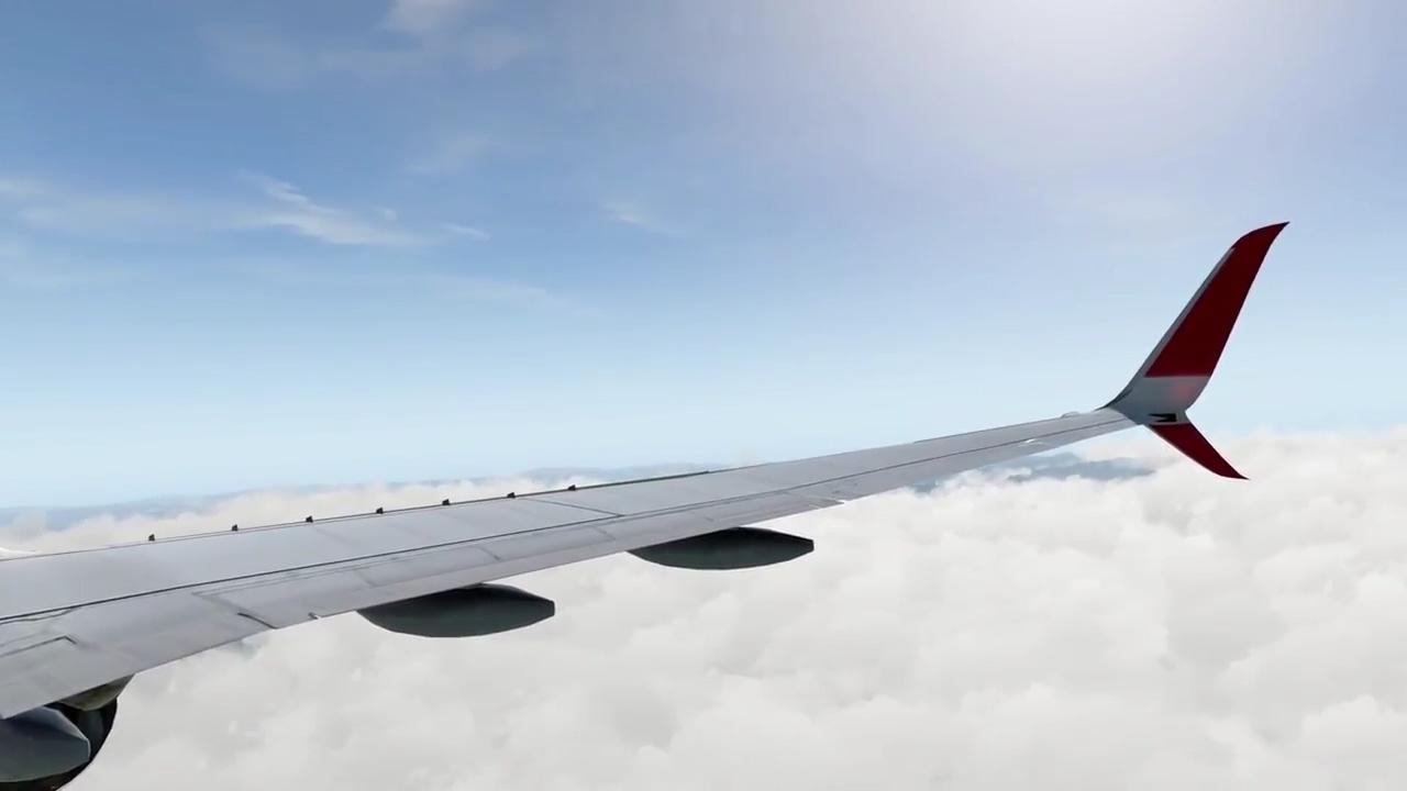 X-Plane 11) Zurich to Innsbruck – Boeing 737-800