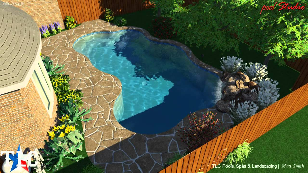 Pool Design For The Neel Family Tlc Pools And Spas