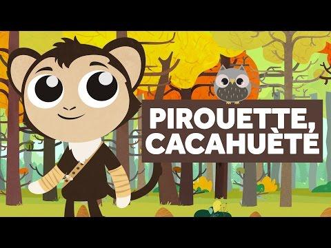 Pirouette Cacahuète - Comptines Pour Bébé - Le Monde Des Zibous