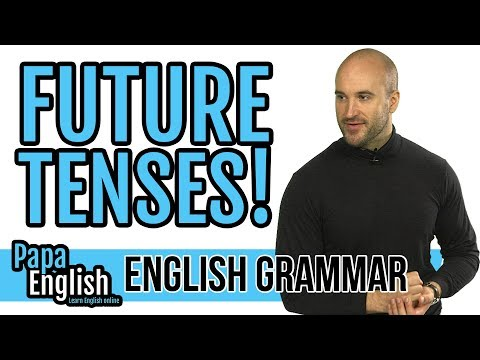 Will / Going to / Be ING / Present simple - Future - Learn English Grammar
