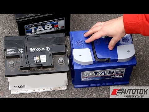 Тип корпуса аккумулятора европейский и азиатский