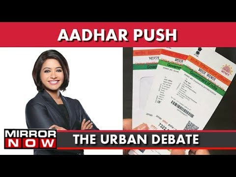 Aadhar Push: Relief For Citizens, FM Arun Jaitley Extends Linkage Deadline I The Urban Debate