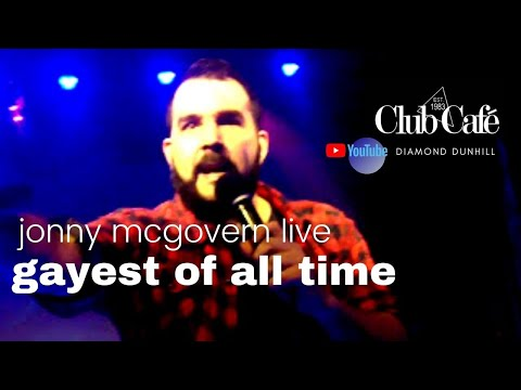 👨🎤HEY QWEEN! Jonny McGovern | The Gayest Of All Time (In Boston) (Live Vocal Performance)