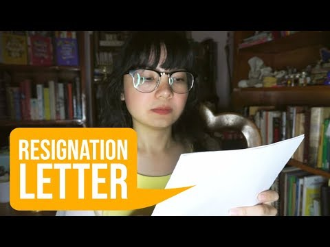 How To Resign From A Job In Filipino/Tagalog