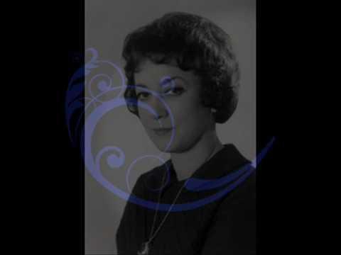 Debussy - Jacqueline Eymar (live, 1957) Images I