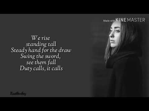 Tommee Profitt feat. Fleurie - Noble Blood (Lyrics)