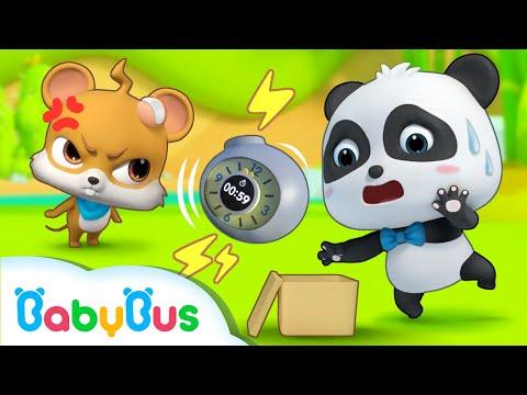 Hộp bưu kiện chứa bom | Phim hoạt hình gấu trúc kiki | Hoạt hình thiếu nhi vui nhộn | BabyBus