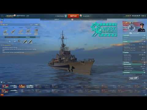 World of Warships Z39 Premium T8 Destroyer Early Preview