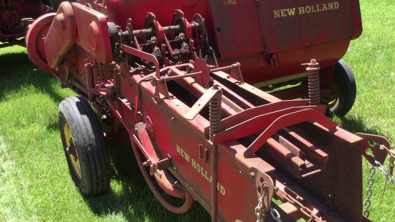 new holland 68 hayliner square baler youtube rh youtube com New Holland 68 Baler Parts new holland s68 baler manual