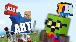 Mini block art!! - Truly Bedrock