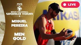 Miguel Pereira 1-Star - 2018 FIVB Beach Volleyball World Tour - Men Gold Medal Match