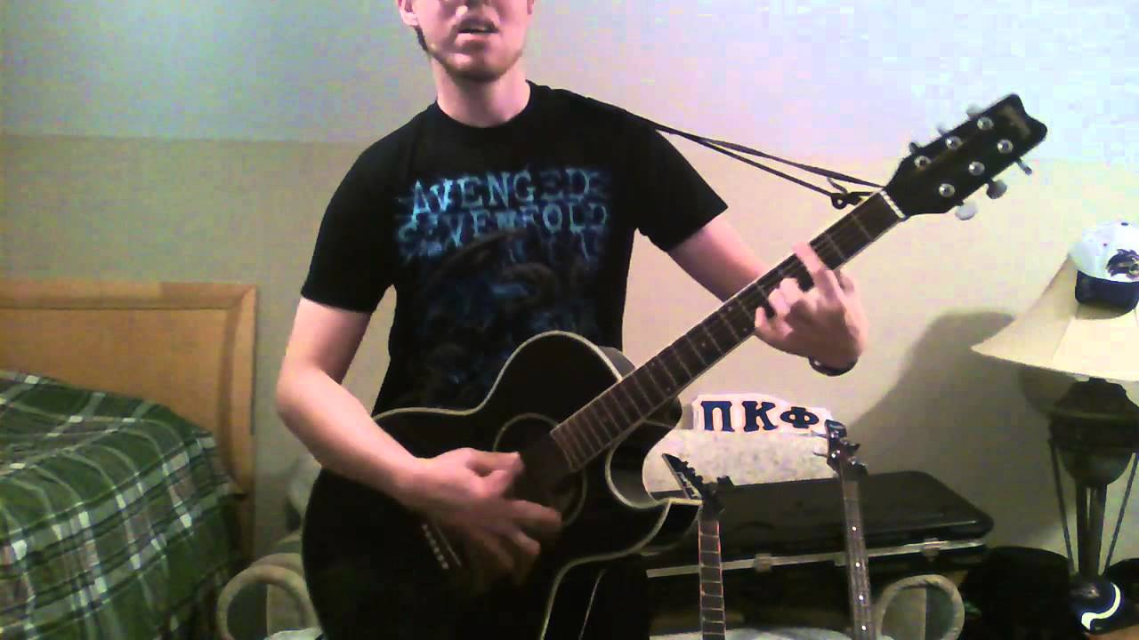 avenged sevenfold nightmare acoustic cover youtube. Black Bedroom Furniture Sets. Home Design Ideas
