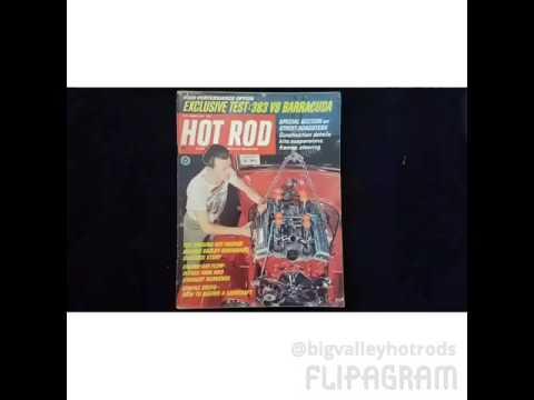 HotRod magazines 60's