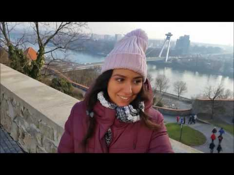 The Magic in Vienna and Bratislava- Winter Vlog