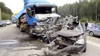 Последствия ДТП на 334 км Екатеринбург-Пермь - Ревда-инфо.тв