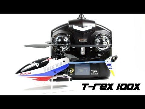 Align T-Rex 100X Super Combo 2.4 GHz - Indoor flight/Piro circles