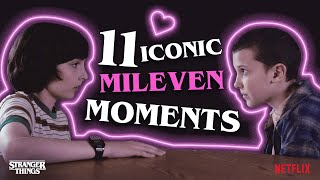 11 Iconic Mileven Moments | Stranger Things