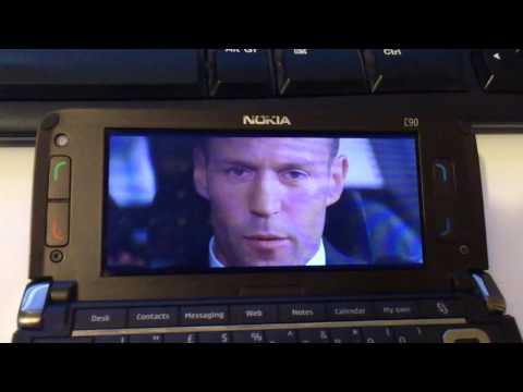 Movie with ratio 25:11 on Nokia E90 Communicator