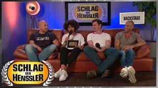 Schlag den Henssler - Backstage Interview mit den drei Kandidaten