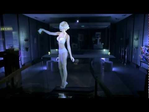 Quelques exemples d'utilisation de la simulation holographique