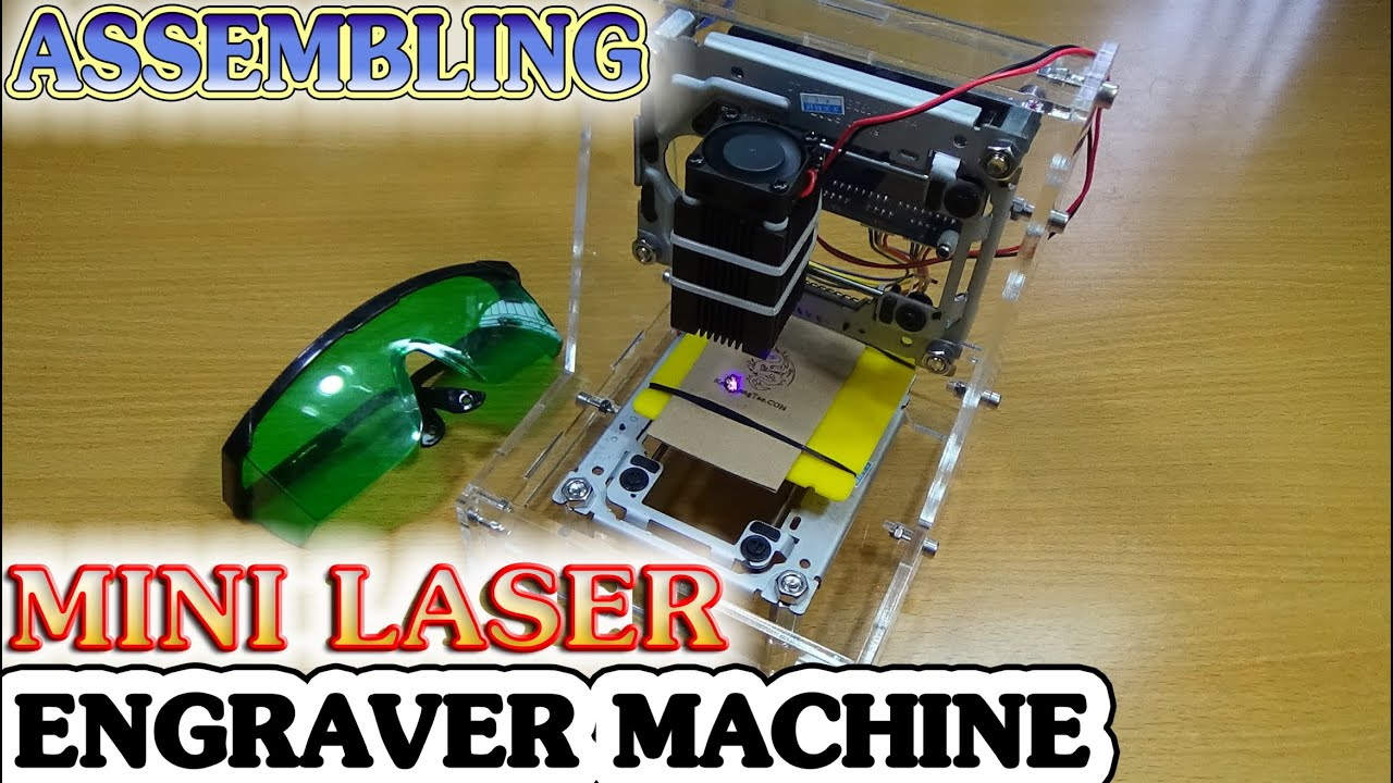 How to assembling mini laser engraver machine with diy kits youtube solutioingenieria Image collections