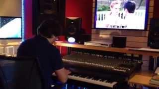 Guy Farley composing for Exodus to Shanghai