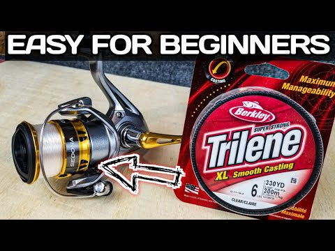 Download How to Spool a Spinning Reel | TIPS to Help Beginners!