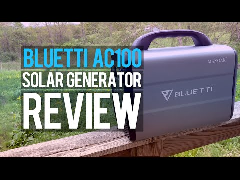 Maxoak Bluetti AC100: Affordable Solar Generator