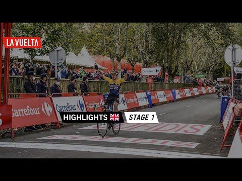 Highlights - Stage 1   La Vuelta 20