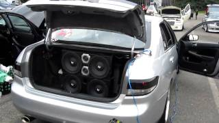 JDM Accord 4 EVs and Orion HCCA LOUD bass in HD part 2
