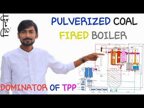 [HINDI] PULVERIZED COAL FIRED BOILER ~ WHAT IS PF BOILER ~ DOMINATOR OF THERMAL POWER PLANTS