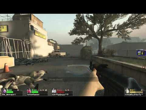 Left 4 Dead 2 Custom Mutation - Hunter Barrage