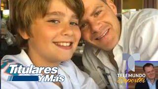 ¡Felicidades! Miguel Gurwitz rompe en llanto por el Día del Padre | Telemundo Deportes