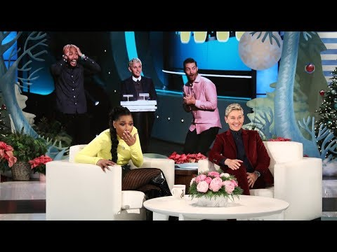 Download Youtube: Ellen's New Show 'Game of Games' Leaves Jennifer Hudson Stunned