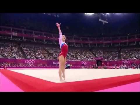 Gymnastics Artistic Ksenia Afanasyeva Russia Floor