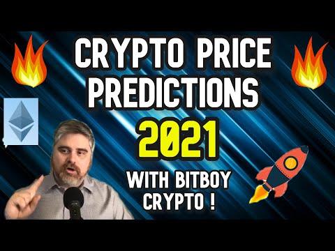 Crypto Price Prediction 2021 with Bitboy Crypto !