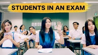11 Types of Students in an Exam