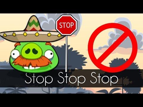 Bad Piggies - STOP STOP STOP (Mini Bad Piggies Game)