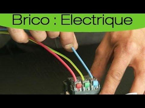 brancher plusieurs prises sur le mme circuit youtube - Installer Une Prise Electrique Exterieure
