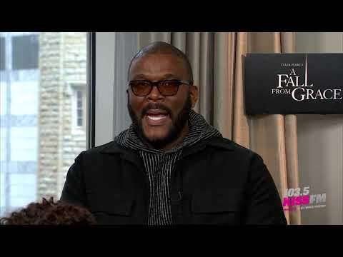 Showbiz Shelly - Shelly Interviews Tyler Perry and the Entire 'A Fall From Grace' Cast