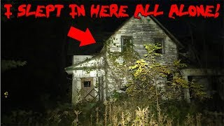 I SLEPT IN TOMS HAUNTED HOUSE ALONE WITH THE TROLL DOLL & THIS IS WHAT HAPPENED! | MOE SARGI