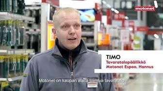 Motonet - varaosamyyjä