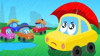 Rain Rain Go Away | Nursery Rhymes For Kids | Little Red Car | Cartoon Songs by Kids Channel