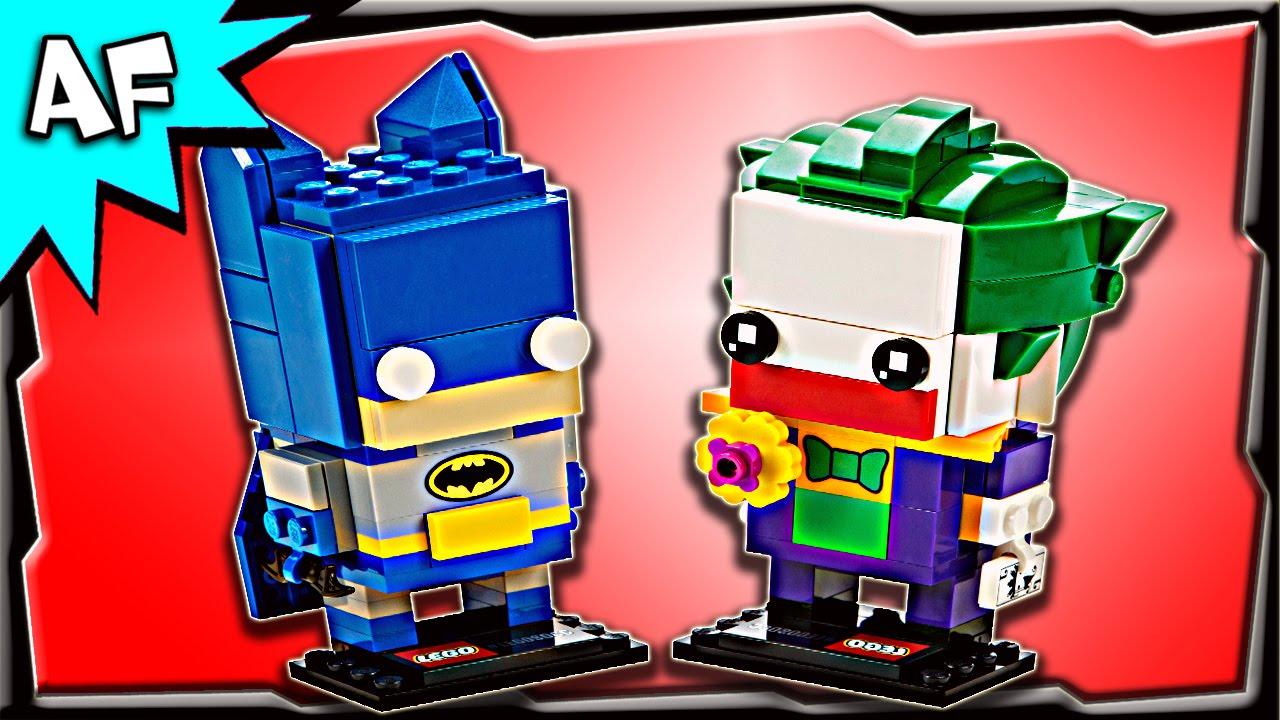 lego dc comics brickheadz batman the joker 41491 stop. Black Bedroom Furniture Sets. Home Design Ideas