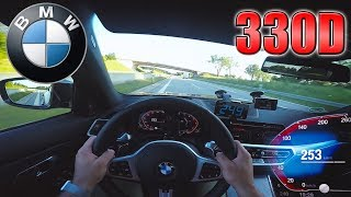0-260km/h | 2019 BMW 330d (G20) | POV- Acceleration and Top speed TEST ✔