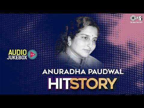 Anuradha Paudwal Hit Story- Audio Jukebox   Anuradha Evergreen Songs   Bollywood Non Stop Hits Mp3